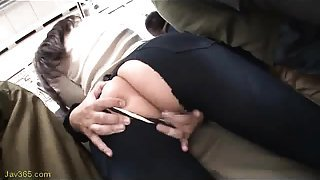 slut wife get sex on the bus