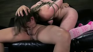 BDSM torture for a curvy babe who has been acting very naughty