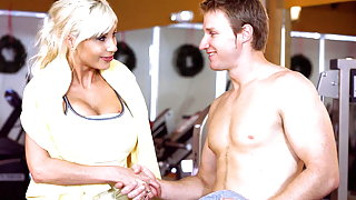 The MILF Naked Gym Workout