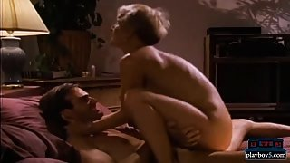 Short hair blonde milf fucked hard in this retro porn video