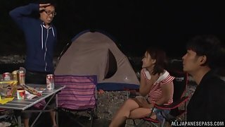 Japanese Sex While Camping
