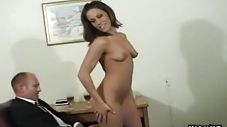 Short Haired Whore Riding Dick