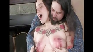 Spanked Legal Age Teenager Milk Sacks