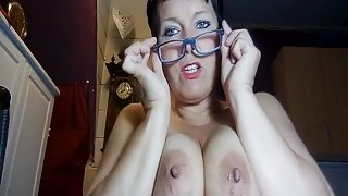 Mature with great tits