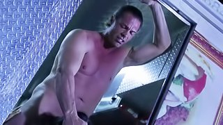 Sexy dressed slutty babe Asa Akira with firm boobs gets her hot asian pussy fucked as hard as possible in a food bus. Nothing can stop beefy guy from drilling her tight exotic hole