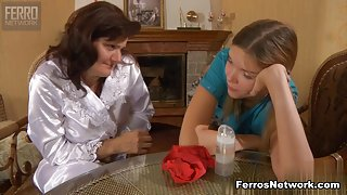 GirlsForMatures Movie: Viola M and Cecilia