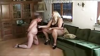 Amazing Amateur record with MILF, Femdom scenes