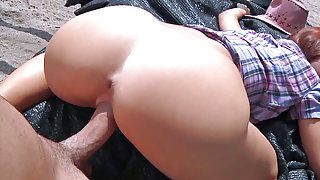 Tina Hot in Amateur Cowgirl Fucks For Cash - PublicPickups