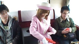 Naughty Babe Riona Suzune Is A Nasty Bus Rider