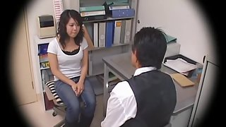 Busty Jap teen screwed in voyeur Japanese hardcore video