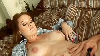 Alison Moore is sick and tired of sex with her husband. She seduces handsome stud Johnny Sins and soon finds his dick in her smooth wet needy pussy, Man loves her hot hole