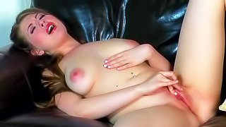 Jessi June is a lovely brown haired girl with sexy body. she poses naked and shoes it all before she masturbates. Sexy girl with natural juicy tits exposes her bare perky ass before she parts her legs to finger fuck her shaved dripping wet pink pussy
