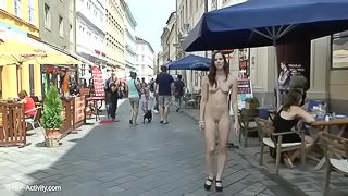Lucie Naked On Public Streets
